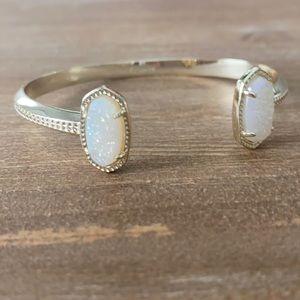 Kendra Scott Gold Elton Drusy Stone Bracelet